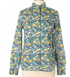 XS floral Button up top